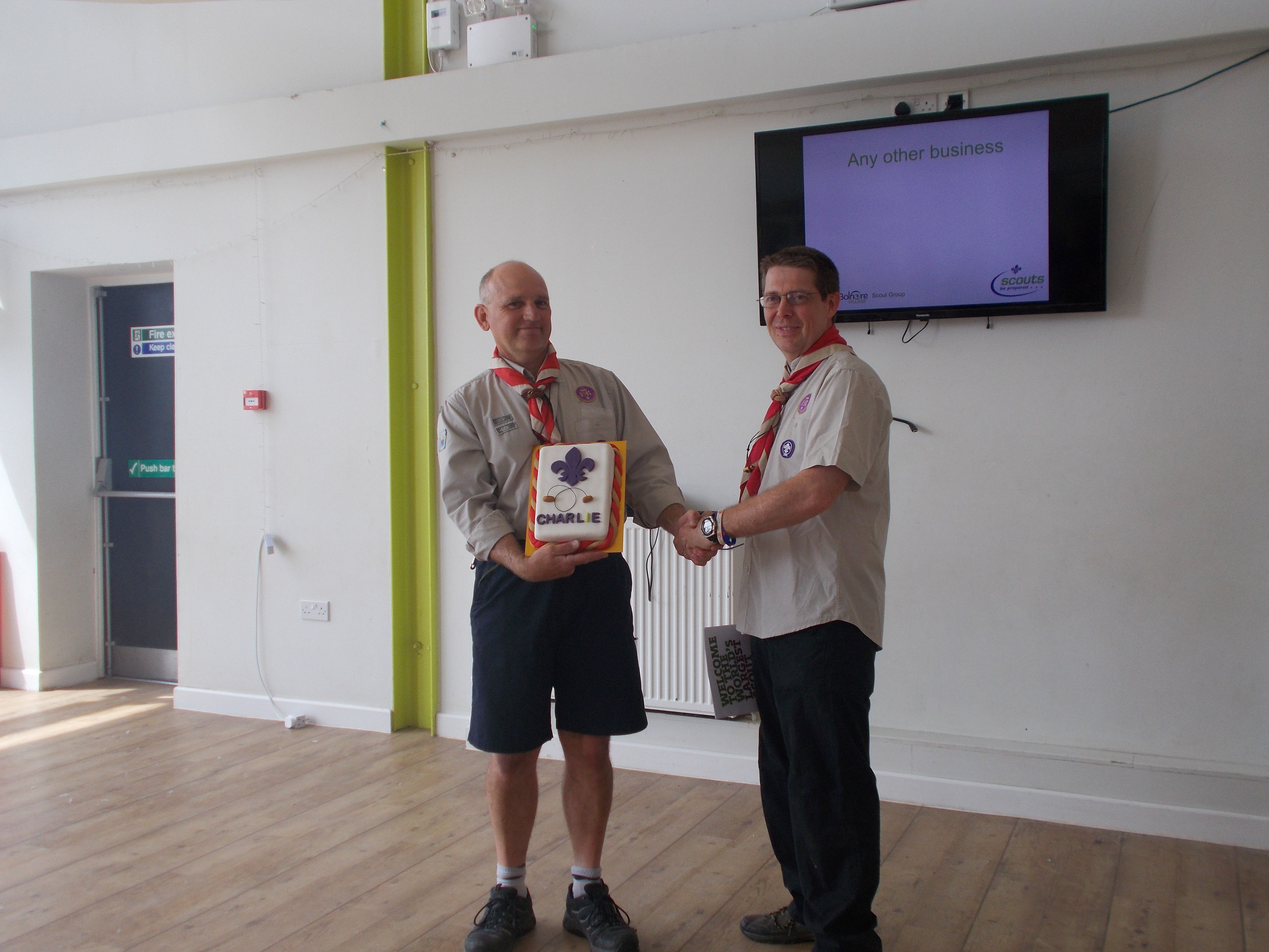 Charlie woodbadge